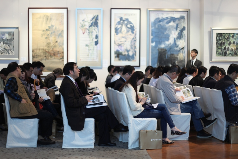 Beijing Poly's inaugural auction in Hong Kong in November