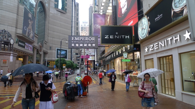 Russell Street is the world's most expensive shopping district